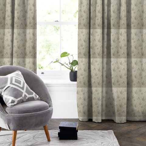 Botanica Ebony Made To Measure Curtain