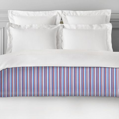 Candy Stripe Nautical Bed Runner