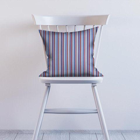 Candy Stripe Nautical Cushion