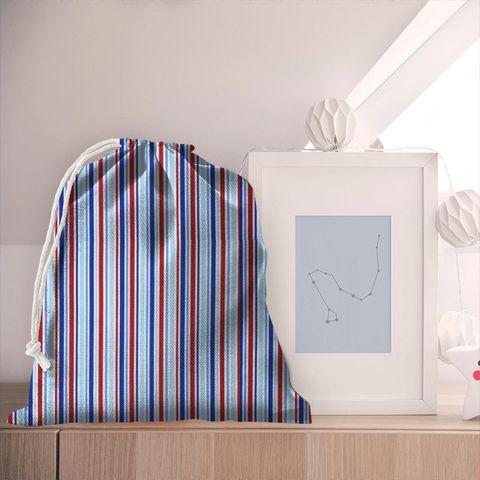 Candy Stripe Nautical Pyjama Bag