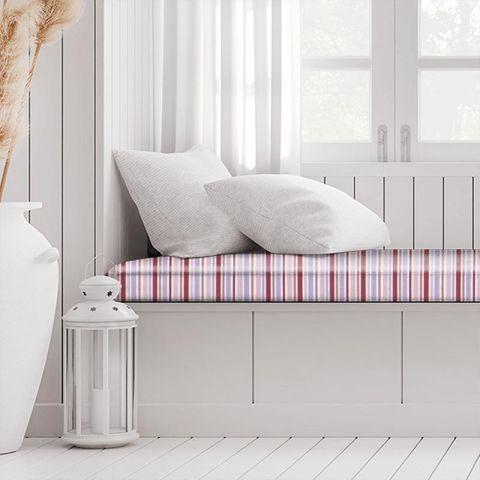 Candy Stripe Pink Box Cushion
