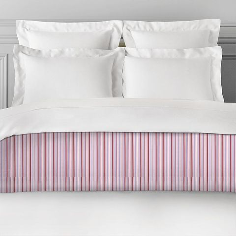 Candy Stripe Pink Bed Runner
