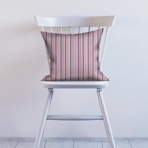 Candy Stripe Pink Cushion