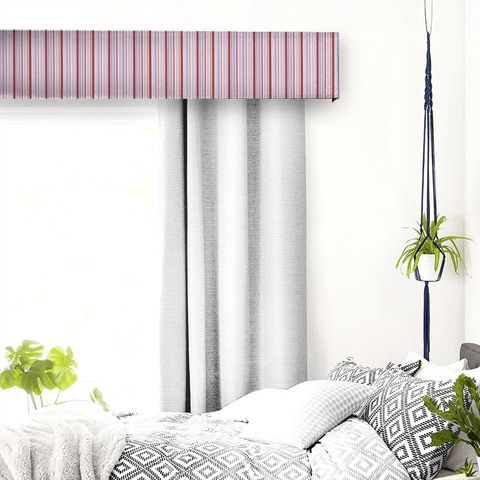 Candy Stripe Pink Pelmet