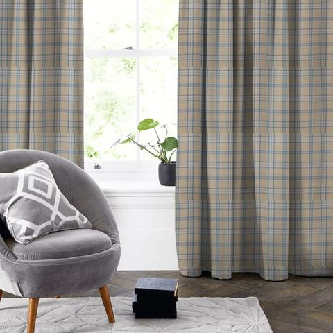 Cerato Azure Made To Measure Curtain