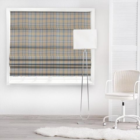Cerato Azure Made To Measure Roman Blind