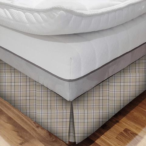 Cerato Charcoal Bed Base Valance