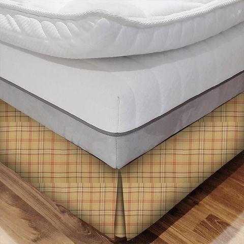 Cerato Orange Bed Base Valance