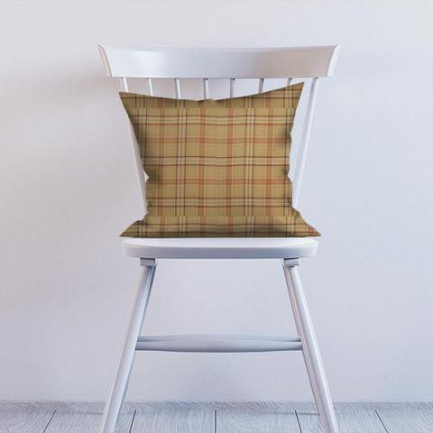 Cerato Orange Cushion