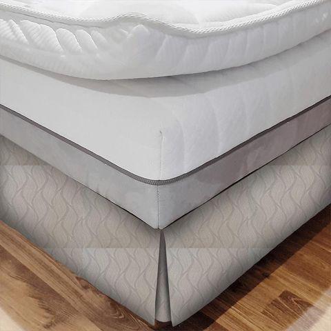 Ciprini Mink Bed Base Valance