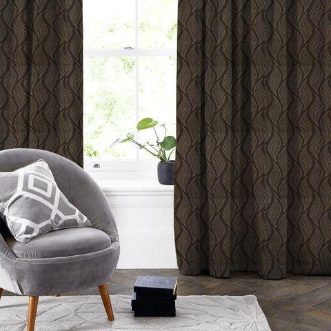 Ciprini Mocha Made To Measure Curtain