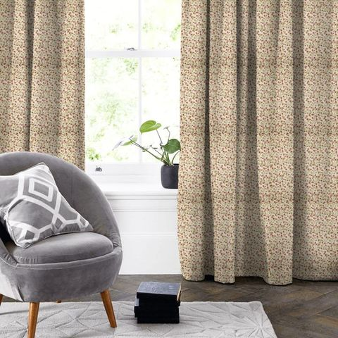Clarice Cherry Made To Measure Curtain