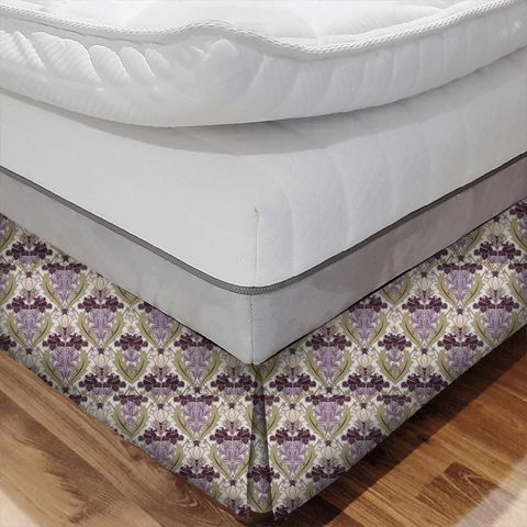 Acanthus Berry Bed Base Valance