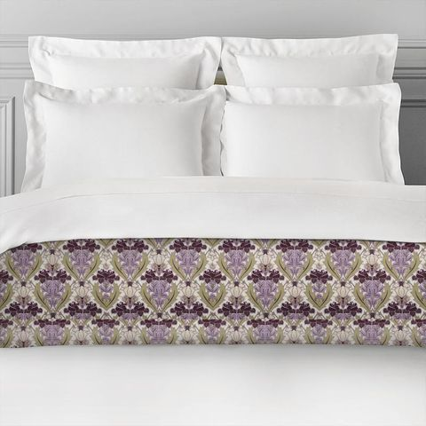 Acanthus Berry Bed Runner