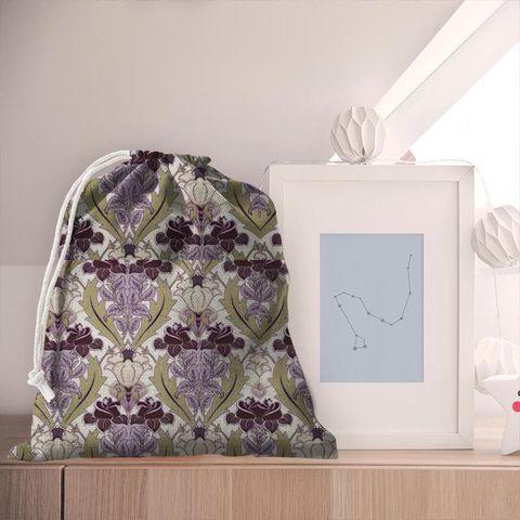 Acanthus Berry Pyjama Bag