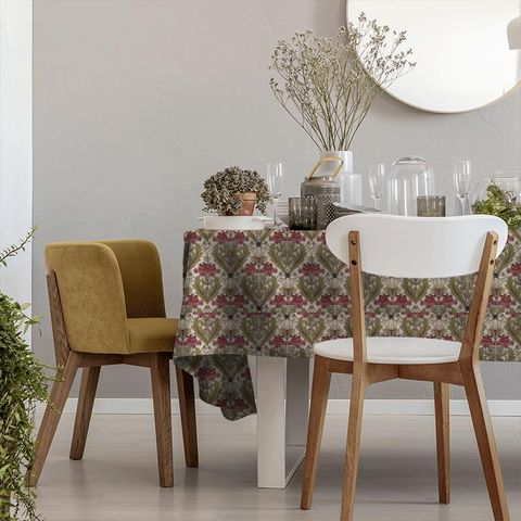 Acanthus Cherry Tablecloth