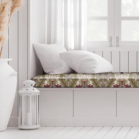 Acanthus Cherry Box Cushion