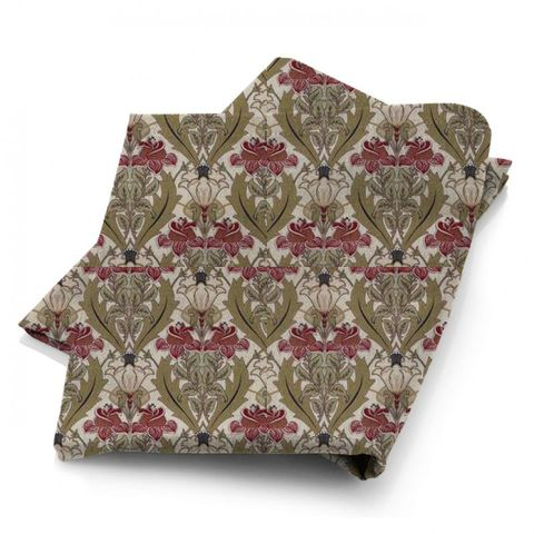 Acanthus Cherry Fabric