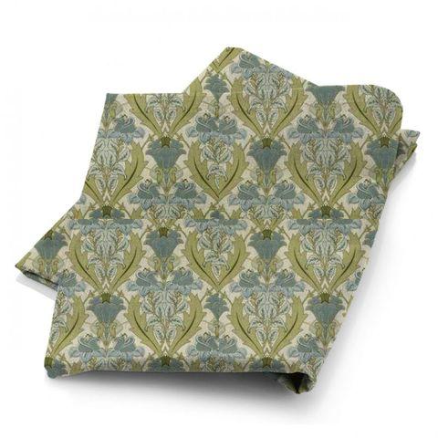 Acanthus Cornflower Fabric