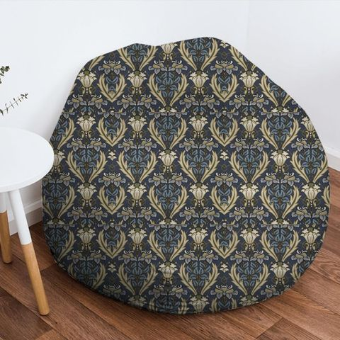 Acanthus Navy Bean Bag