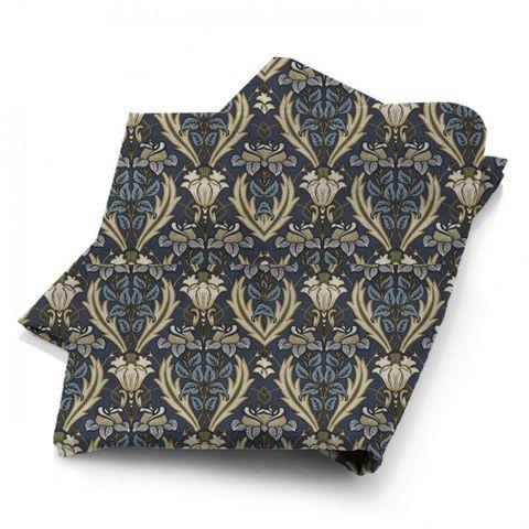 Acanthus Navy Fabric
