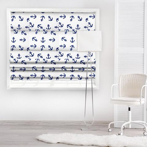 Ahoy Marine Made To Measure Roman Blind