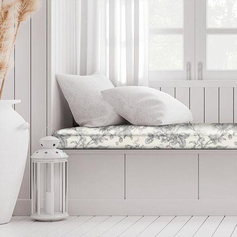Aquitaine Charcoal Box Cushion