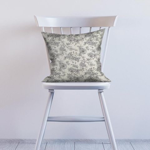 Aquitaine Charcoal Cushion