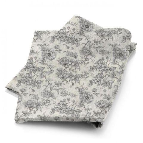 Aquitaine Charcoal Fabric