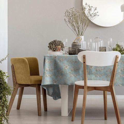 Aquitaine Eau De Nil Tablecloth