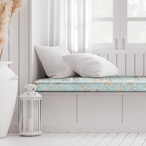 Aquitaine Eau De Nil Box Cushion