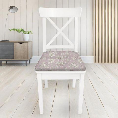 Aquitaine Rose Seat Pad Cover