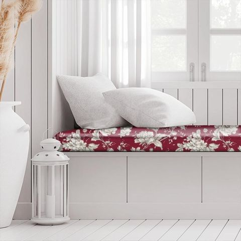 Aquitaine Rouge Box Cushion