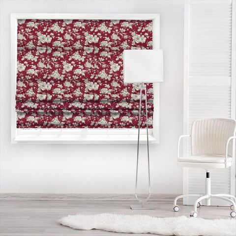 Aquitaine Rouge Made To Measure Roman Blind