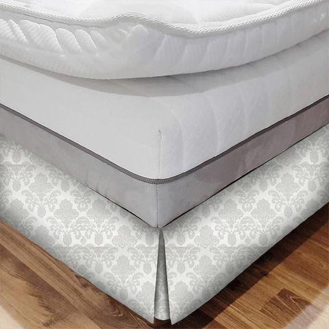 Ardenne Charcoal Bed Base Valance