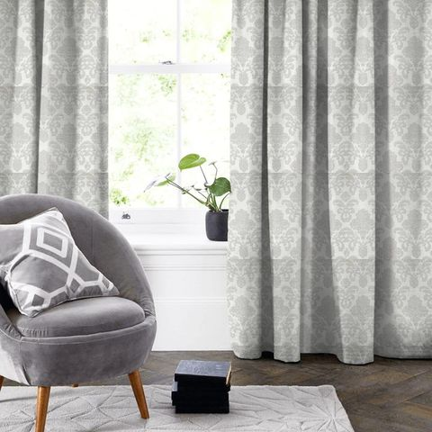 Ardenne Charcoal Made To Measure Curtain