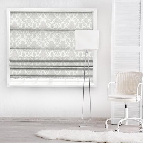 Ardenne Charcoal Made To Measure Roman Blind