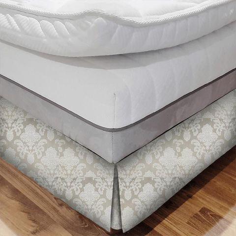 Ardenne Mink Bed Base Valance
