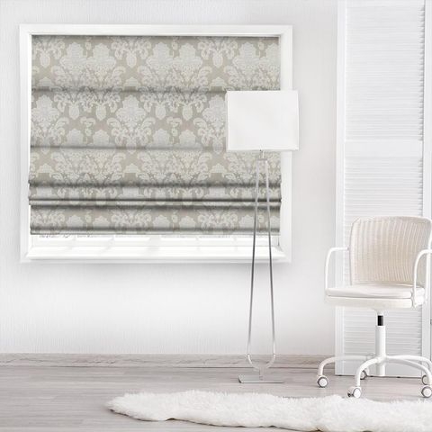 Ardenne Mink Made To Measure Roman Blind
