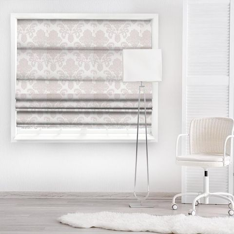Ardenne Rose Made To Measure Roman Blind
