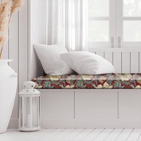 Art Deco Cherry Box Cushion