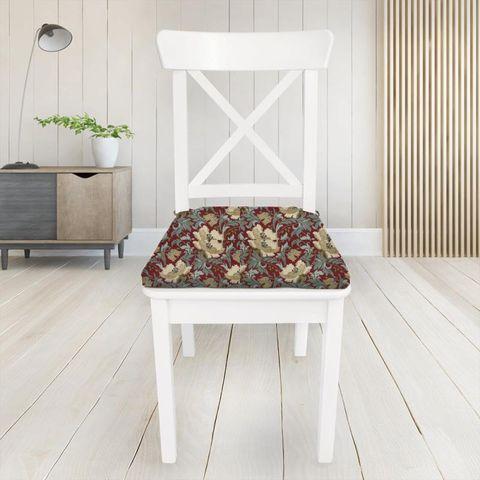 Art Deco Cherry Seat Pad Cover
