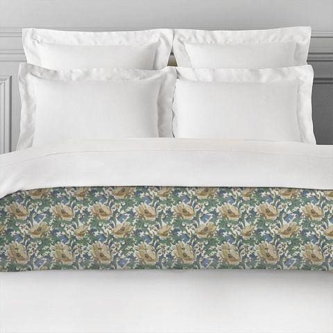 Art Deco Cobalt Bed Runner