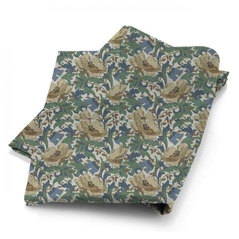 Art Deco Cobalt Fabric