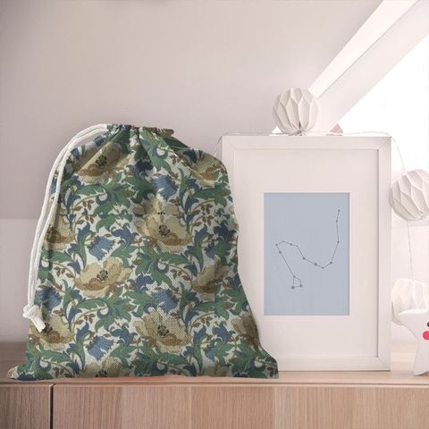 Art Deco Cobalt Pyjama Bag
