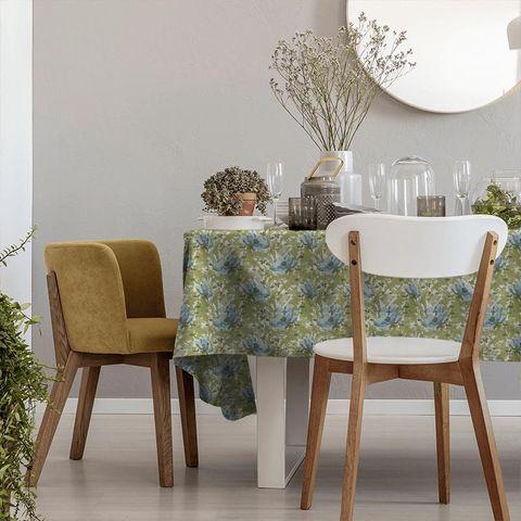 Art Deco Cornflower Tablecloth