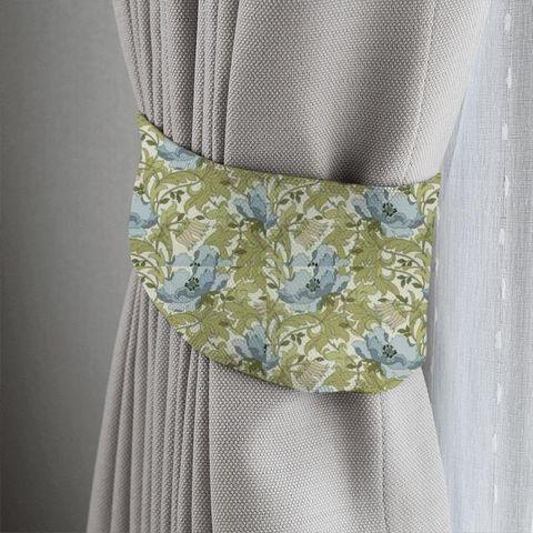 Art Deco Cornflower Tieback
