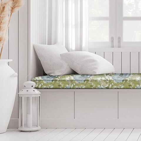 Art Deco Cornflower Box Cushion