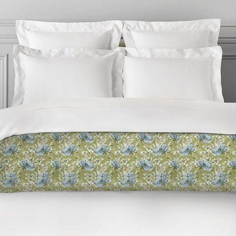 Art Deco Cornflower Bed Runner