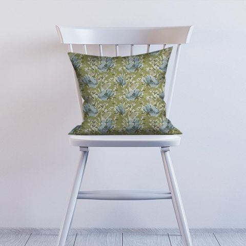 Art Deco Cornflower Cushion